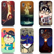 Case For Samsung Galaxy Ace S5830i GT S5830 GT-S5830i Cover Fashion HD UV Printing Cartoon Back Shell Hard Plastic Skin Coque