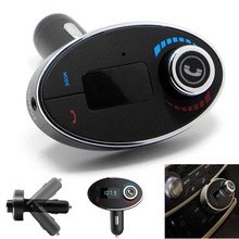 Car Kit LCD Bluetooth Mp3 Player Handsfree FM Transmitter Modulator USB Charger