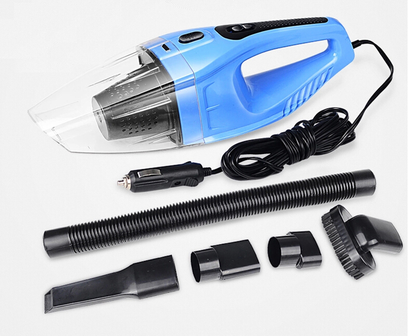 Portable Auto Vacuum Cleaner 12V 120W Super Suction Car Vacuum Cleaner Wet and Dry Aspirador De Po Portatil With Car Charger(China)