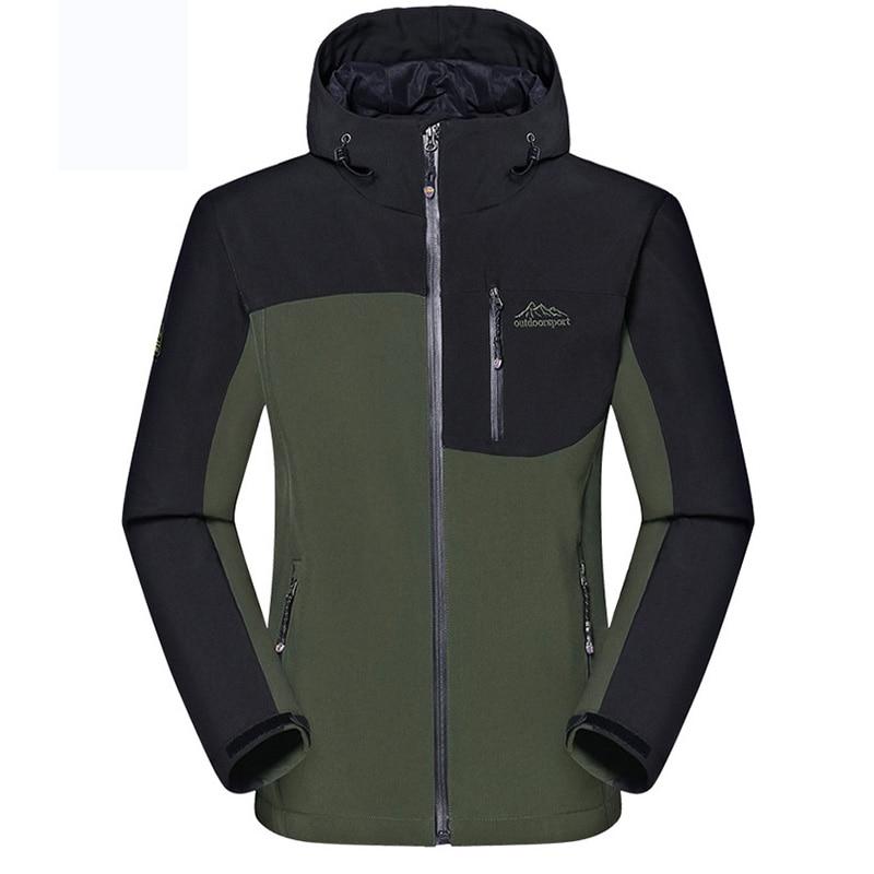 hot sale Male Outdoor Waterproof Climbing Jacket Windbreaker Men Warm Breathable Windproof Sport Outdoor Coat<br><br>Aliexpress