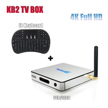 KB2 Pro Android TV Box with i8 Keyboard Amlogic S912 Octa Core 3GB 32GB H.265 4k 3D Media Player Support Bluetooth 4.0 Wifi