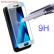 Buy 5 Colors Full Cover Tempered Glass Samsung Galaxy A3 A5 A7 2017 A320 A520 A720 Screen Protector Film Samsung A720 A5 A3 for $1.06 in AliExpress store