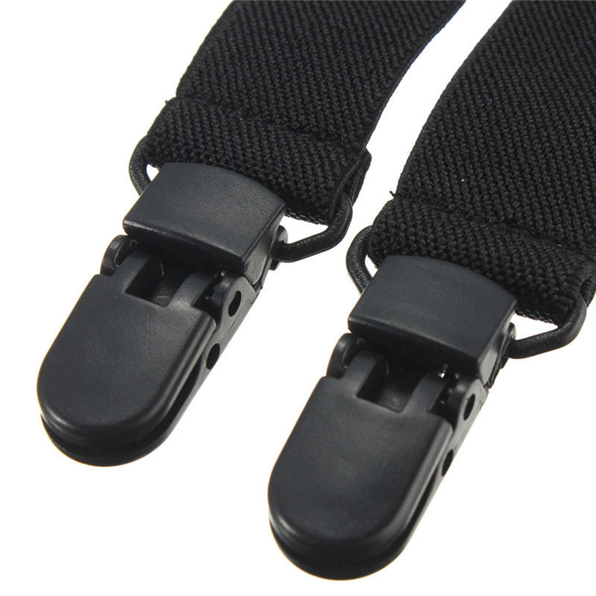 2Pcs Pants Clips Stirrups Adjustable Elastic Motorcycle Bike Leg Boot Straps Plastic Polyester-coon Material Boot Clips