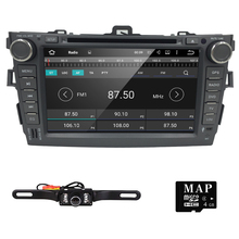 8 inch Quad Core Android 5.1 Lollipop Car Radio 2Din Stereo for TOYOTA COROLLA Support GPS Navigation SWC Car Radio Audio Video