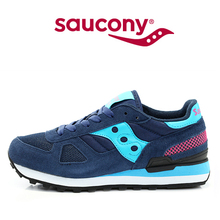 Hot Sale West Nyc x Saucony Shadow Original Women's Shoes,New Colors Women's Shoes Navy Blue Color(China)