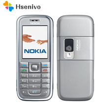 Refurbished original Nokia 6233 mobile phone with 2MP camera 3G loud speaker support Russian menu Russian keyboard free shipping(China)