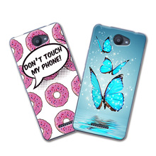 2017 Newest Grid Cartoon Painted Phone Cases For BQ Aquaris U Lite Case Cover Soft Silicone fundas For BQ Aquaris U 5.0'' Coque