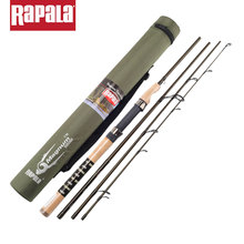 Rapala Brand Magnum 4 Sections M Power 1.98M 2.1M Carbon Fiber Fishing Spinning Rod Baitcasting Lure Fishing Stick with Rod Bag(China)