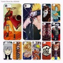 Naruto shippuden dragon ball z Design hard White Skin Case for Apple iPhone 6 6s Plus 7 7Plus SE 5 5s 5c phone case(China)