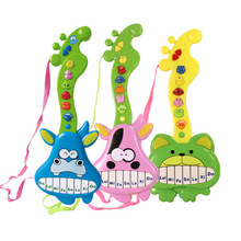 Cute Baby Portable Multifunction Early Learning ELC Rock Star Music Guitar Toys Child Electronic Keyboard Musical toy