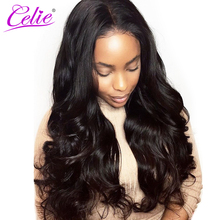 Celie Hair Malaysian Virgin Hair Body Wave 100% Human Hair Bundles Unprocessed Hair Weave Bundles Natural Color Can be Dyed(China)