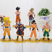 12cm/4.7inch Anime Cartoon Dragon Ball Z PVC Action Figure Toys Dolls 1set=6pcs(China)