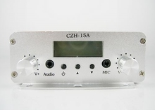 CZH-15A 15W FM stereo PLL broadcast transmitter wholesale(China)