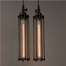 Vintage Country Retro Pendant Lights Steam Punk Industrial Style Single Head With Edison Light Bulb Corridor Restaurant Lamps(China)