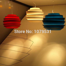 Modern Home Decoration Le Soleil Wave Pendant Lights White Rose Pendant Lamp Hanglamp E27 Fixtures