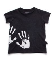 1-7 Years Baby Boys Girls T Shirt Toddler Kids Handprint Tee Tops Children Cotton Infant Clothes