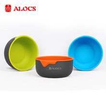 The New Outdoor Furniture For Picnic Camping Tableware Bowl Bowl Full TW-405(China)