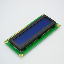 lcd 1602 Blue screen 5V Character LCD Display Module Blue Blacklight New 16X2 for arduino(China)
