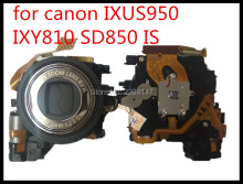 100% original Lens Zoom Unit For CANON PowerShot IXUS950 ixy810 SD850 Digital Camera Repair Part with CCD(China)
