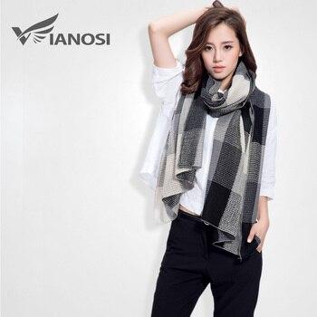 [Vianosi] moda primavera cachecol mulheres sjaal de manta de malha marca foulard bufandas mujer quente cape ds046