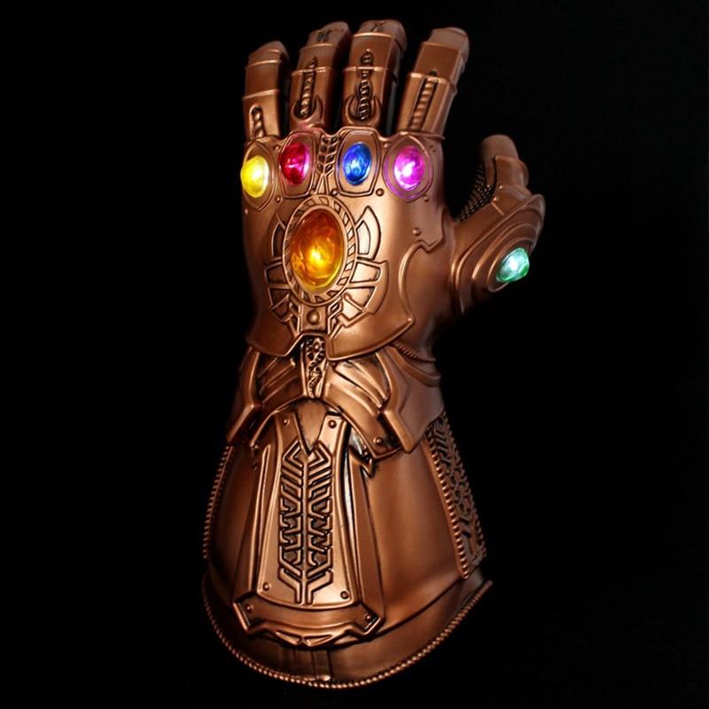 Thanos Infinity Gauntlet Glove Cosplay Avengers Endgame Infinity War Flash M