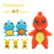 High speed pendrive Pikachu usb flash drive squirtle pen drive chrmander 8gb 16gb 32gb 64gb USB flash disk cute gadget