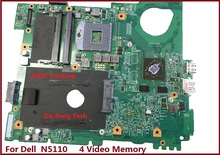 Wholesale price NKC7K 0NKC7K CN-0NKC7K laptop motherboard for Dell N5110 with 4 Video Memory 100% Test(China)