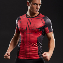 Fun Deadpool Shirt Tee 3D Printed T-shirts Men Bodybuilding Fitness Clothing Male Tops Funny T Shirt Deadpool Costume Display