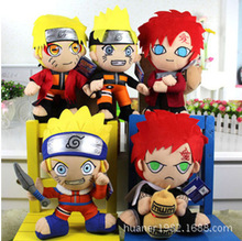 Anime Naruto Action Figure Plush Doll 6 Style Cartoon Plush Toy Japanese Classic Toys For Children free shipping