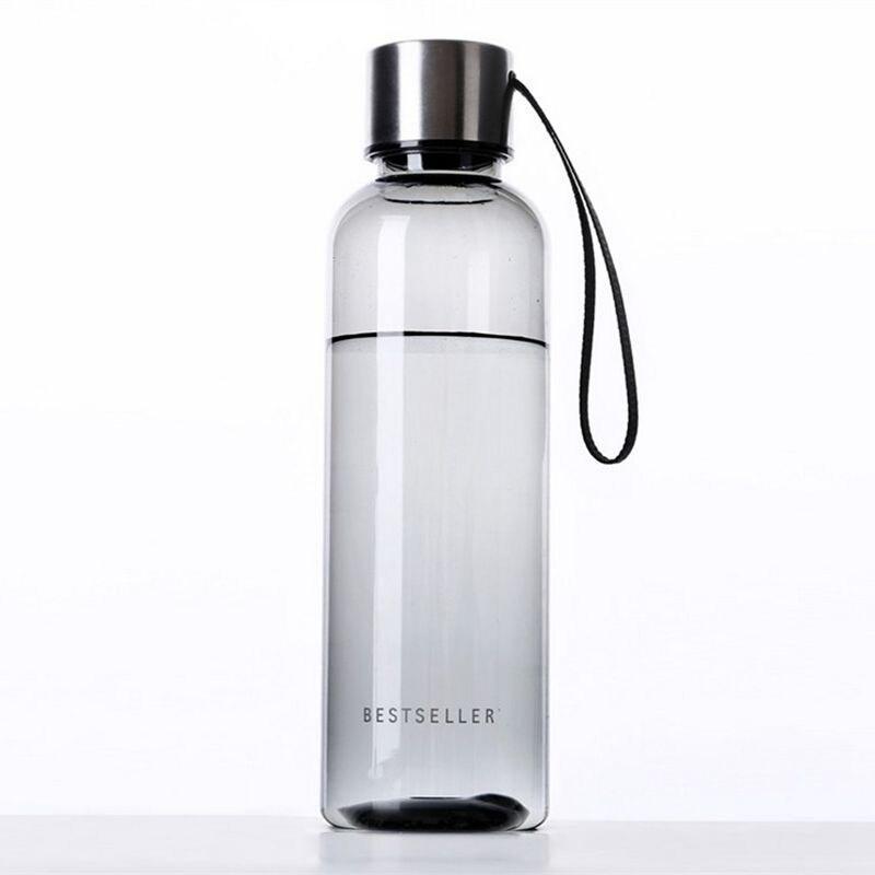500ml Outdoor Water Bottle Fitness Sports Portable Plastic My Botle Shaker Water Bottles BPA Free 11