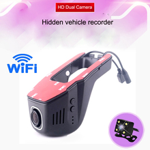 24h Parking monitoring Full HD WiFi Dash Cam 1080P Car DVR Registrator Video Recorder Dash cam Hidden mini auto camera