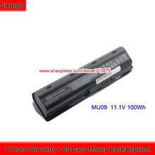Genuine Laptop Battery MU09 For HP DV7 DV6 100Wh