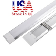 Stock In US + Explosion Proof T8 LED Tubes Batten Light 2ft 3ft 4ft LED tri-proof Light Tube Replace Fixture Ceiling Grille Lamp