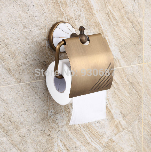 New Design Antique Brass Bath Toilet Paper Holder Wall Mount Tissue Bracket<br><br>Aliexpress