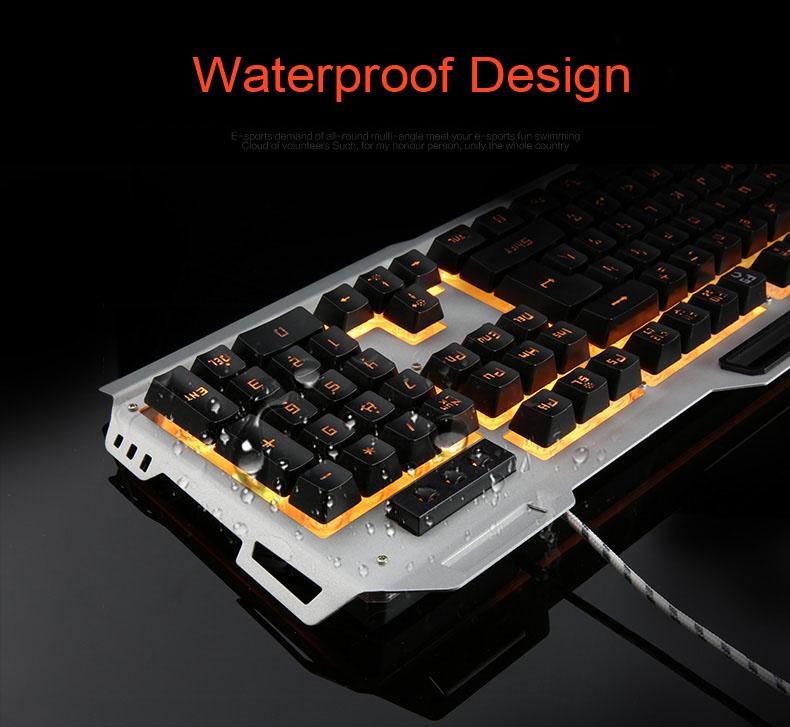 Keyboard+3200DPI Switchable Colorful Breathing 13