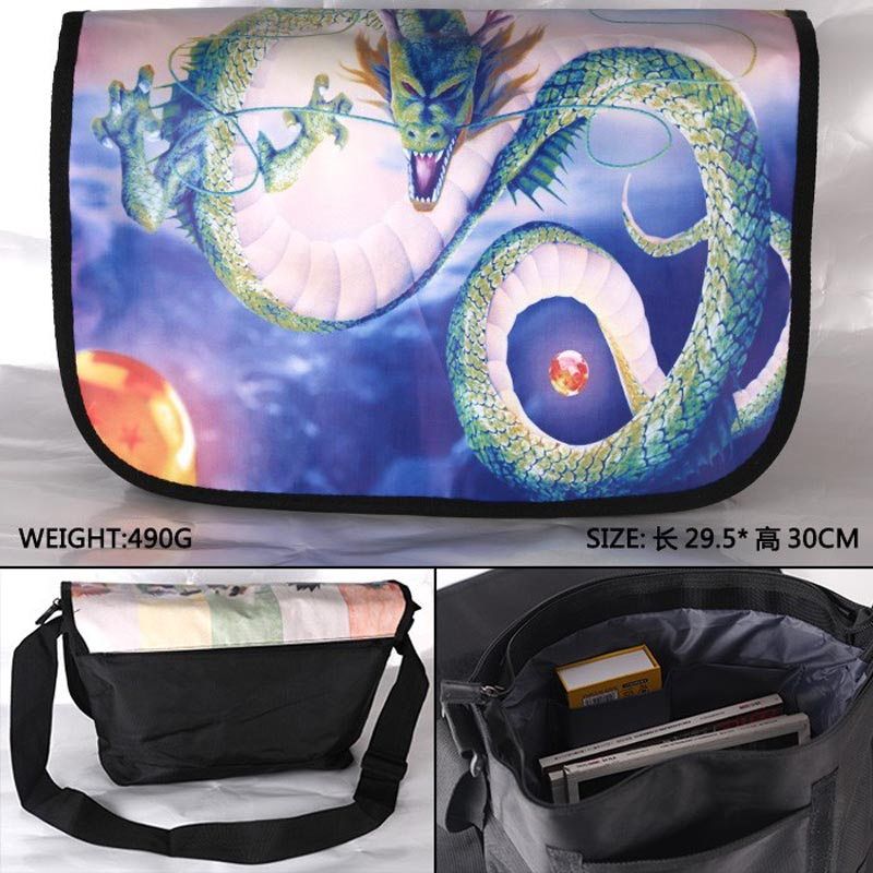 Anime Dragon Ball Oriental Dragon/Loong Waterproof Aslant/Crossbody/Messenger/School/Shoulder Bag/Satchel<br><br>Aliexpress