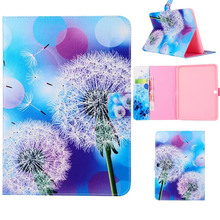 New Cute  Raraxacum Pattern PU Leather Smart Stand Case Cover For Samsung Galaxy Tab 4 10.1 T530 T531 T535 Tablet 510