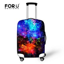 New Fancy Travel Luggage Cover Apply For 18-30inch Suicase Elastic Waterproof Luggage Protective Dust Cover Travel Accessories
