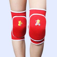 Multi-Color Infant Child Boys Girls Cotton Sports Knee Cap Dance Training Soft Knee Pad 3-15Y