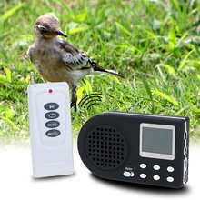 Hunting Decoy Digital Bird caller MP3 player Bird Hunting caller Game Mp3+Wireless remote control+Bird sounds 90dB Speaker LCD