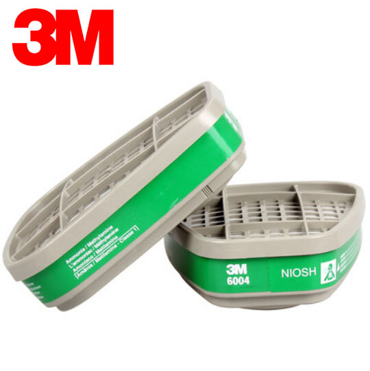 3M 6004 Chemical Respirator Cartridges Anti Ammonia&amp;Methylamine Respiratory Protection NIOSH Standard R82412<br><br>Aliexpress