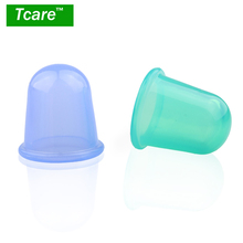 * Tcare 1 Pcs Health Care Body Beauty Silicone Vacuum Cupping Cups Neck Face Back Massage Cupping Cups Relax Full Body Massage