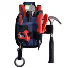 3-Pocket Professional Electrician Tool Belt Utility Pouch Work w/Tape Buckle Conveniet Tool Bag for Your Good Choice