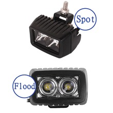 10W with Cree LED Chips Work Light Spot Flood 1000LM For Off Roda 4x4 Motorcycle Boat ATV Truck Tractor 4WD Working Light D15