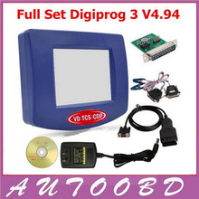 Newly Digiprog III V4.94 Digiprog3 Odometer Correction Tool DP3 Digiprog 3 Mileage Programmer with Full Software full set cable