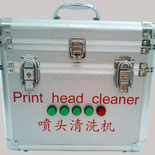 Large format printer head cleaning machine for Epson DX4 DX5 DX7 Seiko 510 1020 HP Konica Minolta 512 1024 print head cleaner