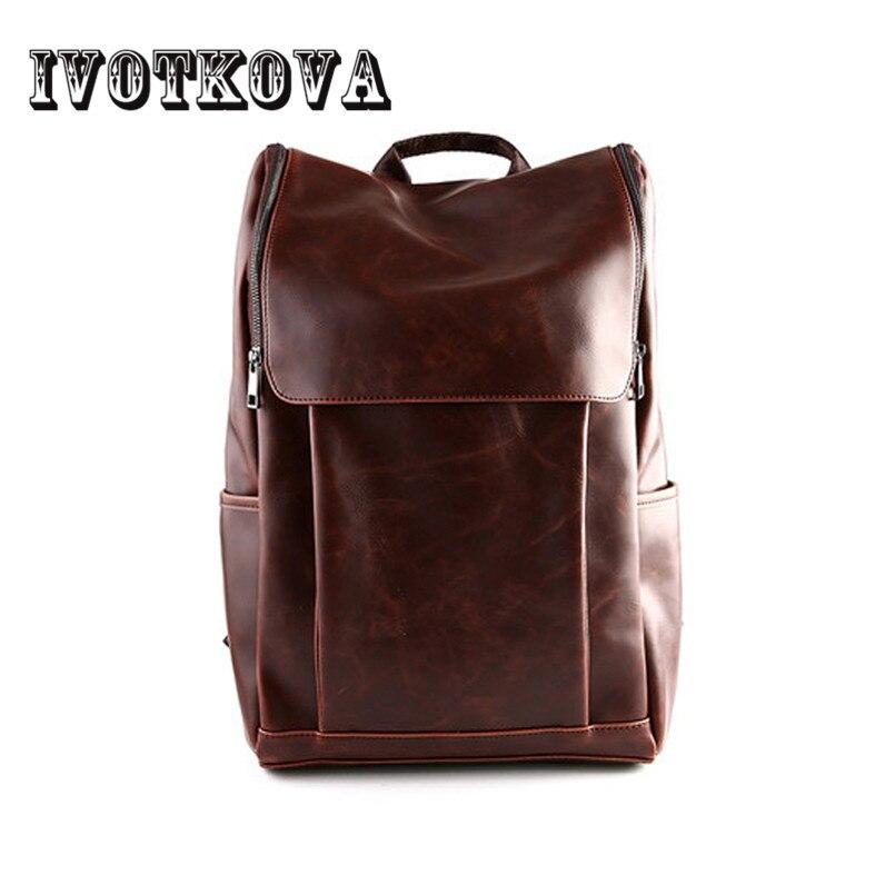 IVOTKOVA 2017 New Arrival Mens Backpack High Quality Rucksack for Man Brand Daily Pack Male Backpacks Hot Sale Mochila<br>