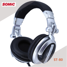 Somic ST-80 Professional Monitor Music Headset HiFi Subwoofer Enhanced Earphone Super Bass Noise-Isolating DJ Headphone(China)