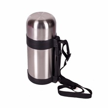 THERMOS SATOSHI vacuum stainless steel with wide neck, 1000ml, discount sale high quality vacation travel hiking lure 841-324