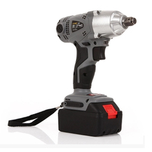 Lithium rechargeable electric wrench wrench cordless impact wrench scaffolding installation tool can change car wheel